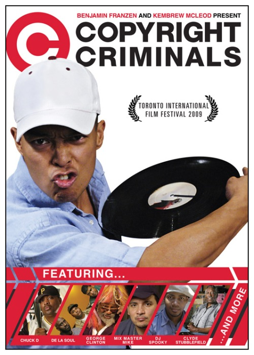 Cartaz Copyright Criminals 1